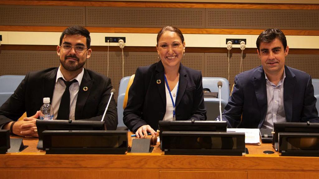 Mario Arancibia, Alibe Hamacher, Joaquin Aviles